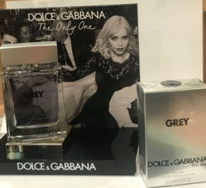 DOLCE AND GABBANA GREY