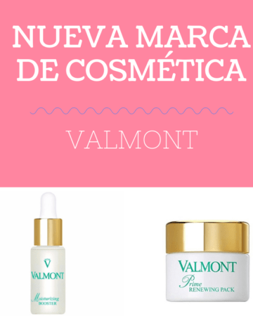 Nueva marca de cosmética Valmont 1