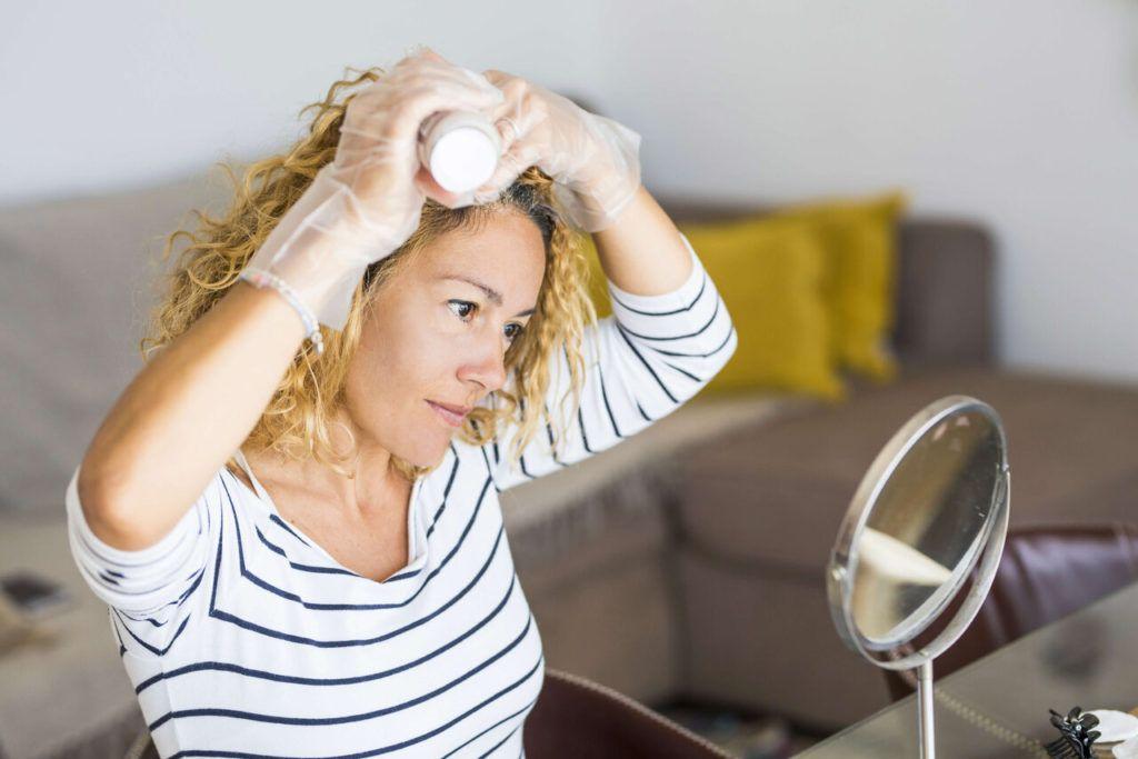 cómo teñir pelo